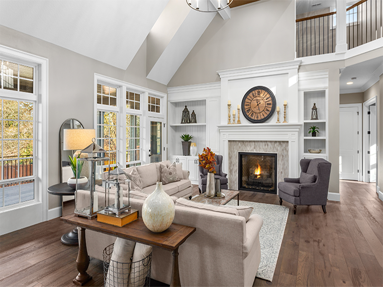 transitional interior collections